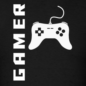 Gamer Video Games Controller Gaming - Men's T-Shirt