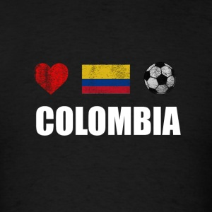 Colombia Football Colombian Soccer T-shirt - Men's T-Shirt
