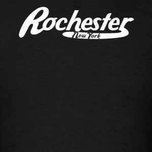 Rochester New York Vintage Logo - Men's T-Shirt