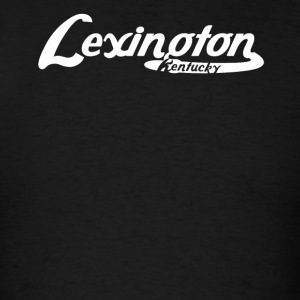 Lexington Kentucky Vintage Logo - Men's T-Shirt