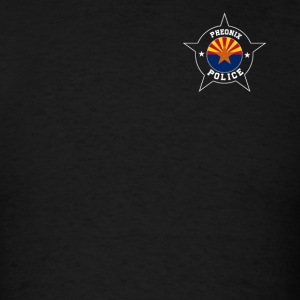 Phoenix Police T Shirt - Arizona flag - Men's T-Shirt