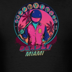 Deadly Miami, Inspired by Hotline Miami - Men's T-Shirt