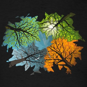 Four Seasons In One Day - Men's T-Shirt