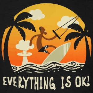 Everything is Ok - Men's T-Shirt