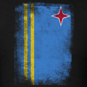 Aruba Flag Proud Aruban Vintage Distressed - Men's T-Shirt