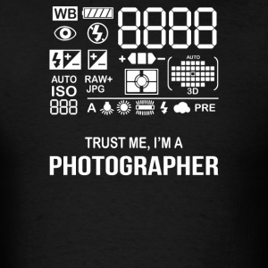 Photographer Camera - Men's T-Shirt