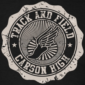 Track Field Carson High - Men's T-Shirt