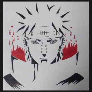 Pain from Naruto - Men's T-Shirt