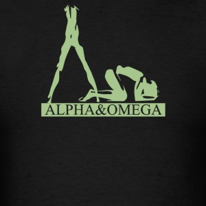 Alpha and omega - Men's T-Shirt