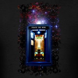 Tardis bigger on the inside - Men's T-Shirt