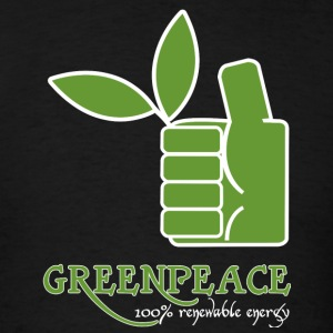Greenpeace 100 renewable energy - Men's T-Shirt
