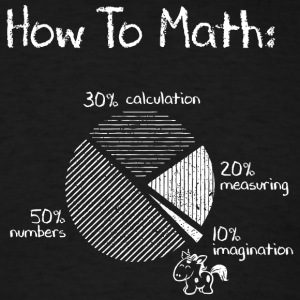 How To Math - Men's T-Shirt