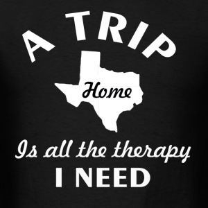 A trip to Texas - Men's T-Shirt