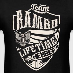 Team rambo lifetime member - Men's T-Shirt