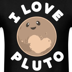 I love Pluto shirt - Men's T-Shirt
