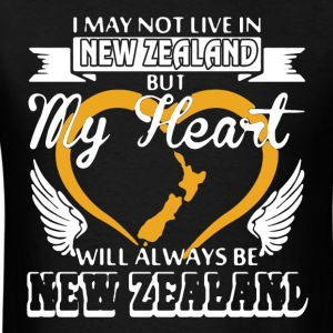 My Heart Will Always Be New Zealand - Men's T-Shirt