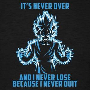 super saiyan goku - it's never over - Men's T-Shirt