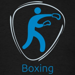 Boxing_blue - Men's T-Shirt