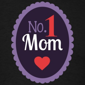 No_1_MOM - Men's T-Shirt