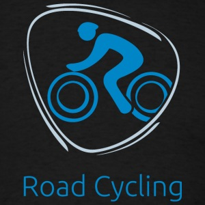 Road_cycling_blue - Men's T-Shirt