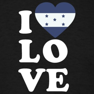 I love Honduras - Men's T-Shirt