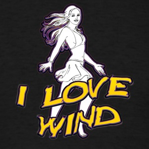 I_love_wind - Men's T-Shirt