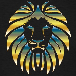 Prismatic Lion Design - Men's T-Shirt