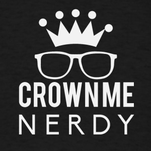 Crownie nerdy - Men's T-Shirt