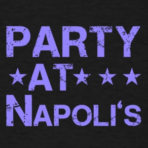 PARTY AT NAPOLIS NAPOLI'S CLEVELAND INDIANS - Men's T-Shirt