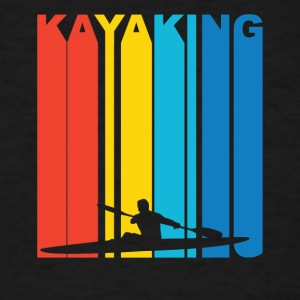 Vintage Kayaking Graphic - Men's T-Shirt