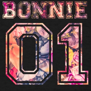 Bonnie_01_vintage_flower_bunt - Men's T-Shirt