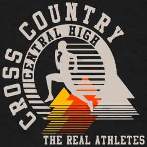 Cross Country Central High The Real Athletes - Men's T-Shirt
