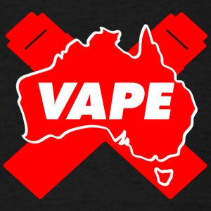 VAPE Red AU - Men's T-Shirt