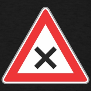 Road_Sign_x_sign - Men's T-Shirt