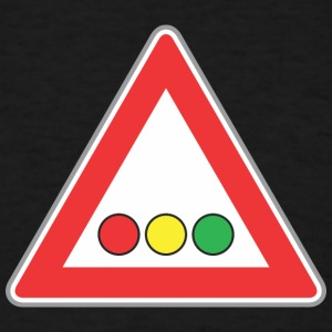 Road_Sign_lights - Men's T-Shirt
