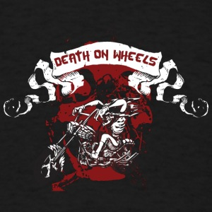 death_on_wheels - Men's T-Shirt