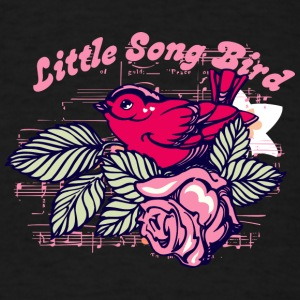 little_song_bird - Men's T-Shirt
