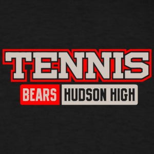 Tennis Bears Hudson High - Men's T-Shirt