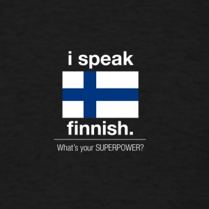 SUPERPOWER finnish - Men's T-Shirt