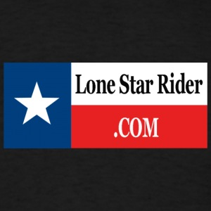 Lone Star Rider Texas Flag - Men's T-Shirt