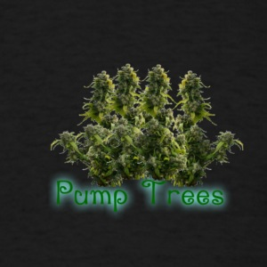 Pump Trees - Men's T-Shirt