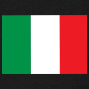 italian flag - Men's T-Shirt