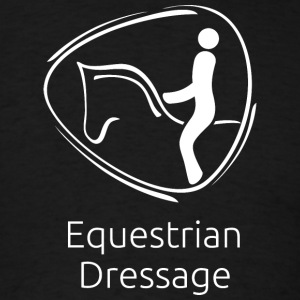Equestrian_Dressage_white - Men's T-Shirt