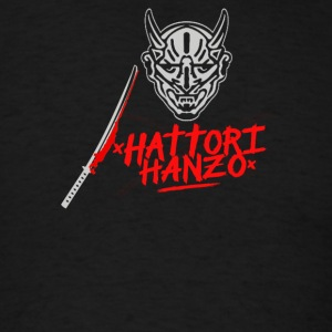 HATTORI HANZO KILL BILL SAMURAI SWORDS - Men's T-Shirt