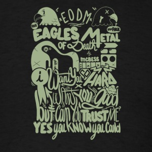 Eagles metal of death - Men's T-Shirt