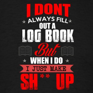 Log Book - Men's T-Shirt