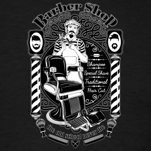barber_shop - Men's T-Shirt