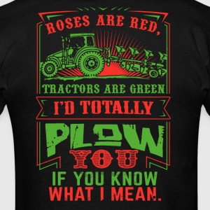 Roses are Red Tractors are Green - Men's T-Shirt