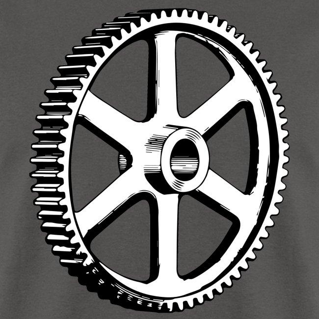 Big Gear Wheel - Vintage Illustration