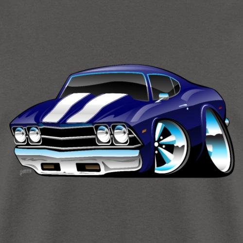 Classic American Muscle Car Cartoon - Men's T-Shirt